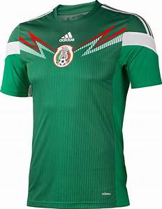 Mexico 2014 World Cup Kits Released - Footy Headlines