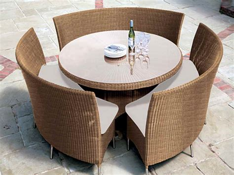 outdoor wicker furniture for small spaces interior