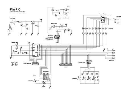playpic uchebnaya plata  mikrokontrollerom picfa