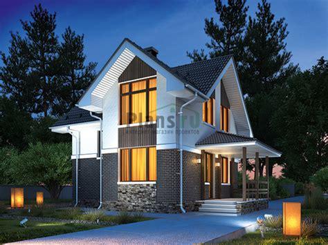 Проект кирпичного дома 46-31