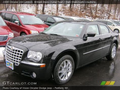 2008 Chrysler 300 Limited by Brilliant Black Pearl 2008 Chrysler 300 Limited