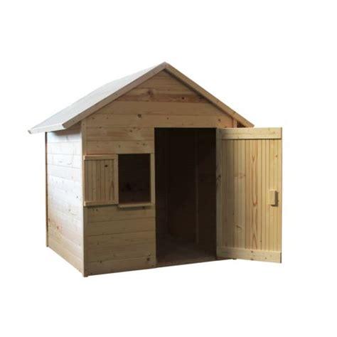 soulet cabane maisonnette en bois pour enfants igor pas cher achat vente maisonnettes