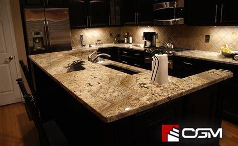 Absolute Cream   Classic Granite Kitchen Countertops