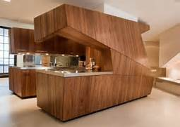 Private Island Ultra Modern Kitchen Floats In White Space Modern Interior Decoration Photo Gallery For Livingroom Design Photos Indoor Southern Staircase With Unique Design Southern Staircase For Chair Wooden White Walls Arts Crafts School Table Open Plan