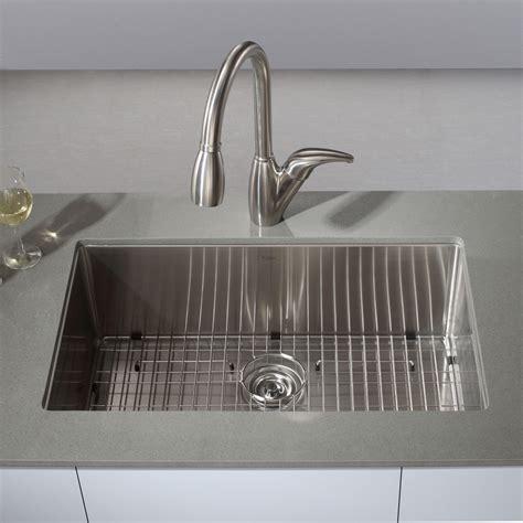 kitchen faucets by moen kraus khu100 30 kitchen sink stainless steel undermount