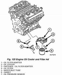 dodge intrepid engine diagram oil cooler get free dodge With oil cooler as well oil pressure sending unit wiring diagram on oil