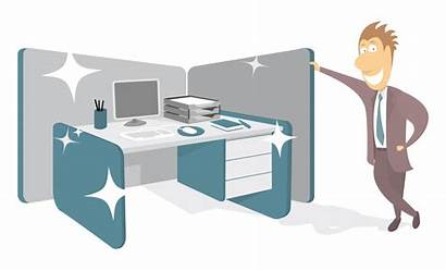 Office Clean Desk Cleaning Keep Policy Cubicle