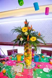 Deco Table Tropical : pinterest caribbean party caribbean tropical beach party table displays planning a caribbean ~ Teatrodelosmanantiales.com Idées de Décoration