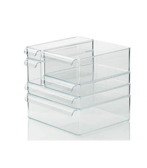 boite rangement cuisine boîte de rangement pour réfrigérateur et placards de cuisine 25 5cm x 10cm x 15 5cm