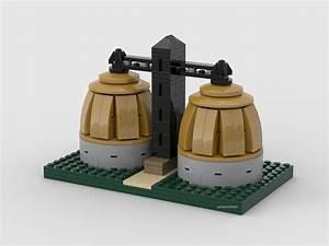 Lego Model Of Back River  Dundalk  Wastewater Treatment