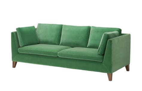 Velvet Sofa, Ikea Stockholm Collection  Sofas Pinterest