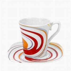 Service Tasse à Café : tasse assiette tasse caf 100 ml avec soucoupe ~ Teatrodelosmanantiales.com Idées de Décoration
