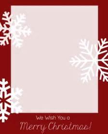 Christmas Card Templates Printable Free
