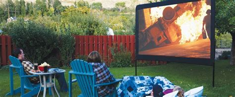 outdoor  hq backyard movies  projector reviews