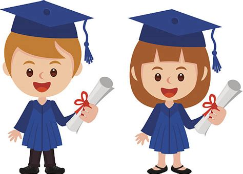 ceremony clipart graduate student pencil and in color 685 | graduation clipart kid vector 2