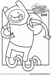 adventure coloring pages - adventure time finn the human coloring page for kids to