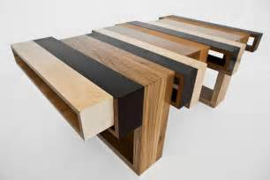 table design wooden table collection made of leftover materials wood con fusion home building