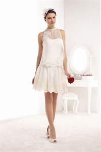 Robe Mariee Courte : robe courte pronuptia ~ Melissatoandfro.com Idées de Décoration