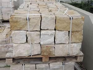 Mauersteine Garten Preise : sandstein mauersteine bossiert 20x20x40 cm gartenmauer ~ Michelbontemps.com Haus und Dekorationen