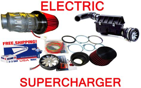 chevy electric air intake ss supercharger turbo performance fan free usa ship ebay