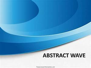 10167-abstract-waves-blue-fppt-1 - Free PowerPoint Templates