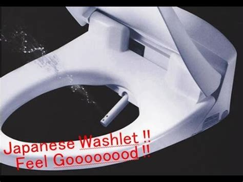 Japanese Style Bidet by Washlet Toilet Seat How To Use Bidet 净身器 ウォシュレット