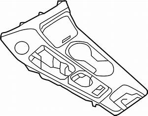 Nissan Maxima Automatic Transmission Shift Cover Plate