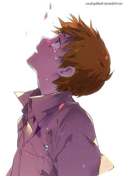 Random Anime Boy - Sad by MonkeyDDante on DeviantArt