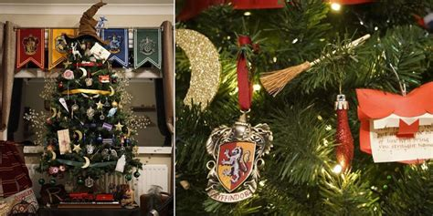 harry potter christmas tree harry potter holiday decorations