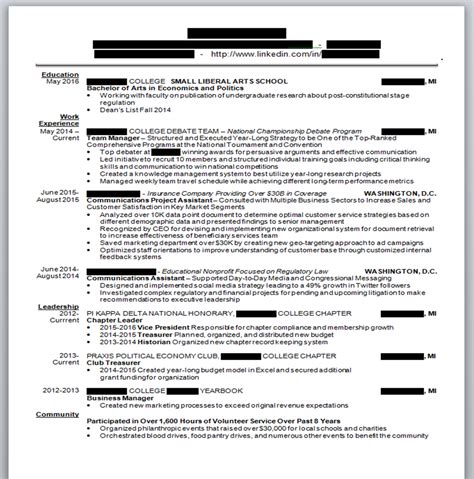 Treasurer Resume Bullets by How To Get Into Consulting Post Here For Resume Advice Questions About Recruitment Or General