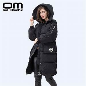 2016 New Winter Jacket Women Long Hooded Warm Coats Brand ...