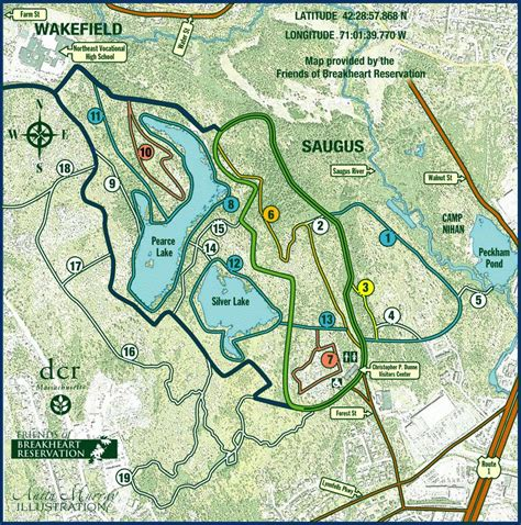 Outer Breakheart Reservation Trail Map