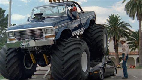 1979 bigfoot monster truck imcdb org 1979 ford f 250 39 bigfoot 39 in quot cannonball run ii