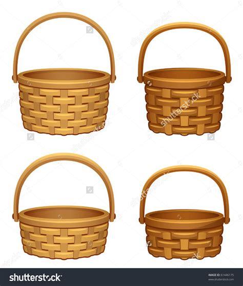 Basket Clipart Picnic Basket Clip Empty Basket Clipart Collection 1