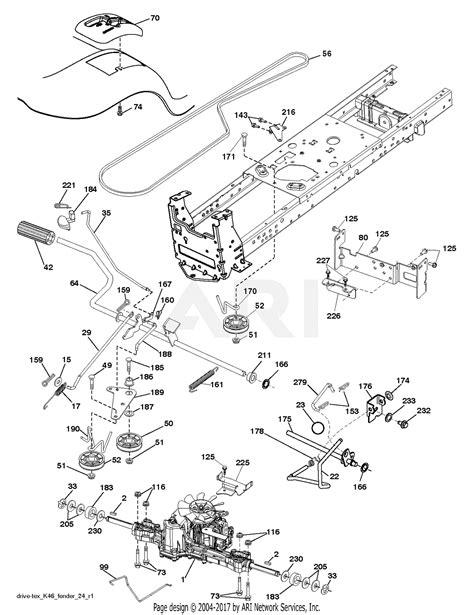 Poulan Mower Wiring Diagram by Poulan Pb195h42lt 96042012302 2011 06 Parts Diagram