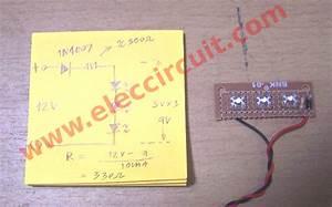 Diy Simple 12v Led Light  U2013 Electronic Projects Circuits