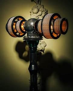 Atlas Steampunk Lamp by Futility Studios  Steampunk