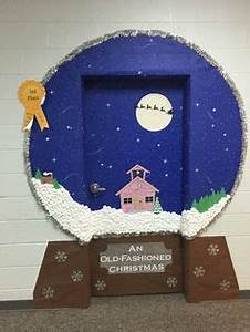 The Snow Globe Family door decorating petition We