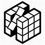 Cube Icon Rubik Rubiks Icons Noun Project
