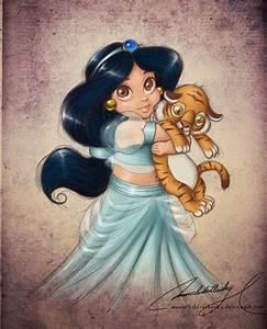 BABY JASMINE - Walt Disney Characters Fan Art (25770415 ...