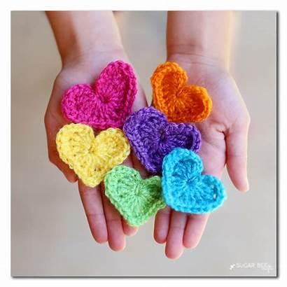 String Heart Crafts Bee Sugar Bloglovin Garland