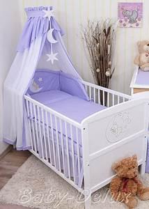 Baby Bettset Mädchen : baby bettw sche himmel nestchen bettset mit applikation ~ Watch28wear.com Haus und Dekorationen