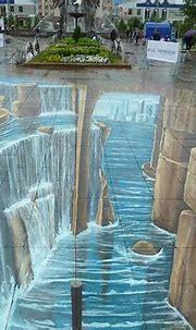 10 Amazing 3D Chalk Art Street Paintings – Bashooka