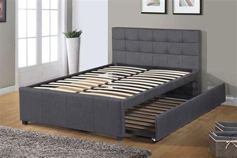 bed platform upholstered storage beds wayfair trundle twin