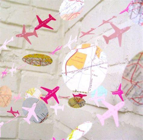 le bon voyage air avion guirlande guirlande en par