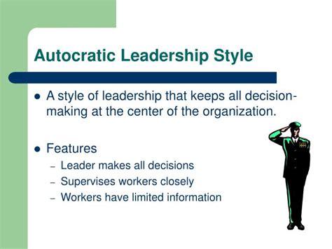 leadership management powerpoint