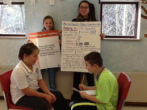 Mr Snell's 6th Grade Class Role Plays Bullying Prevention Skills