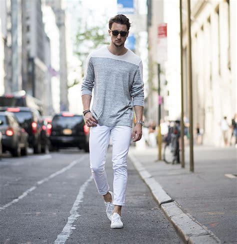 white jeans styles  teen boys dress trends