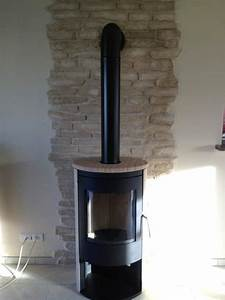 poele a bois acier pierre sable cheminee poele With carreau pour poele a bois