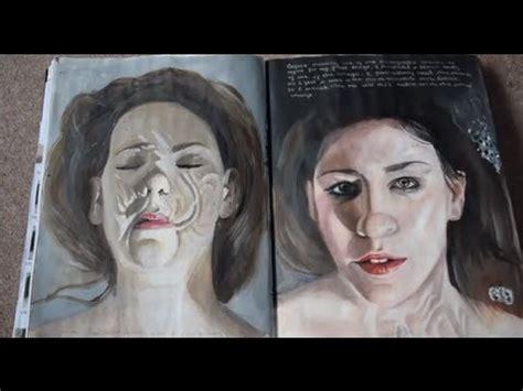 Art Exam Sketchbook Full Marks Youtube